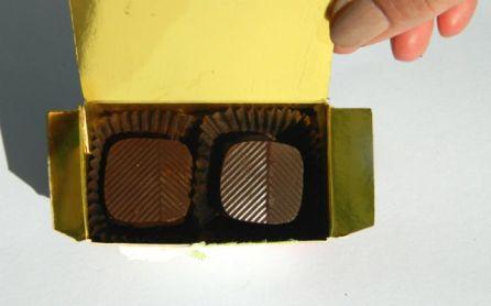 bonbons in doosje