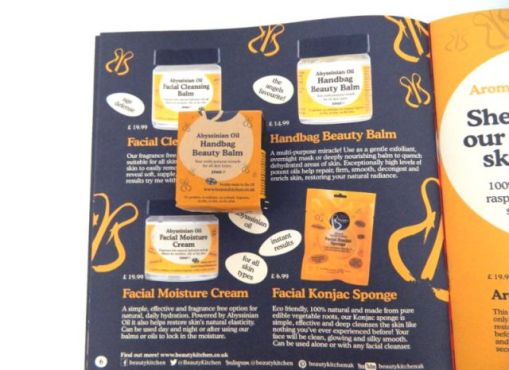 Review lovely beauty products beauty kitchen beautybybabs for Second hand beauty equipment