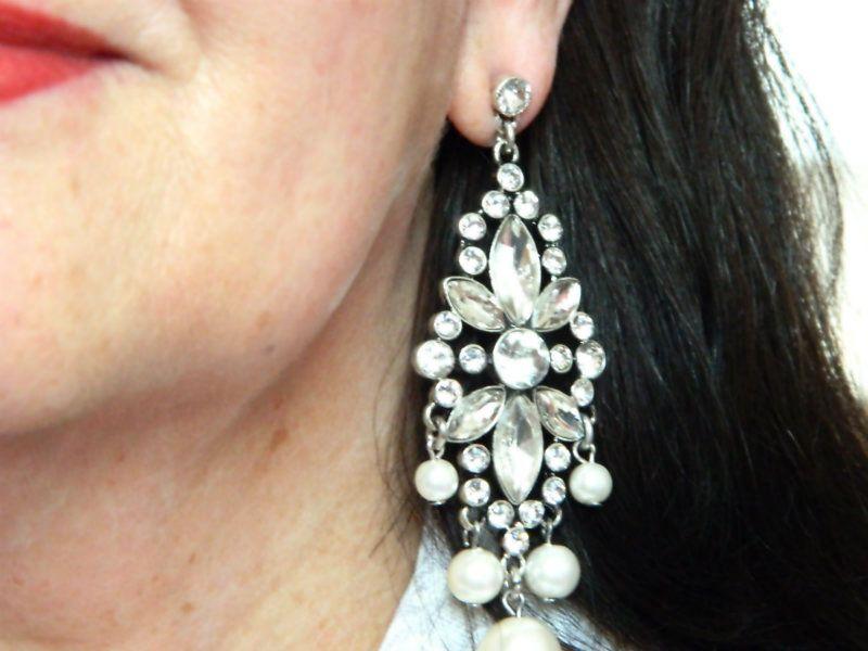Princess Glam Statement Earrings (chandelier earrings)