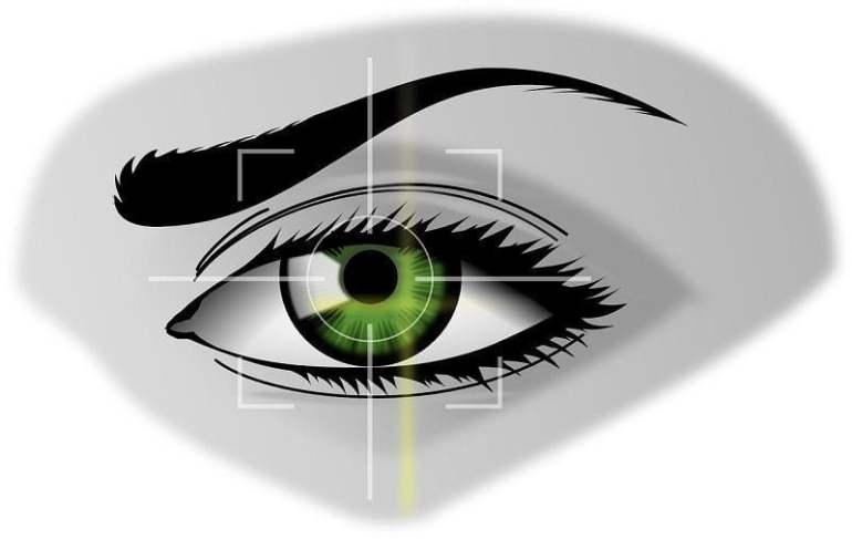 oog laseren