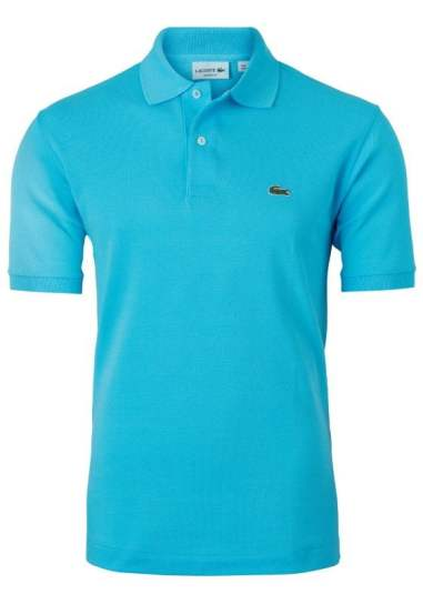 lacoste slim fit polo zeegroen