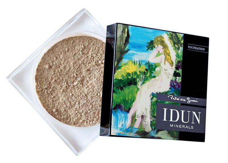 IDUN Minerals Powder Foundation Box open HR