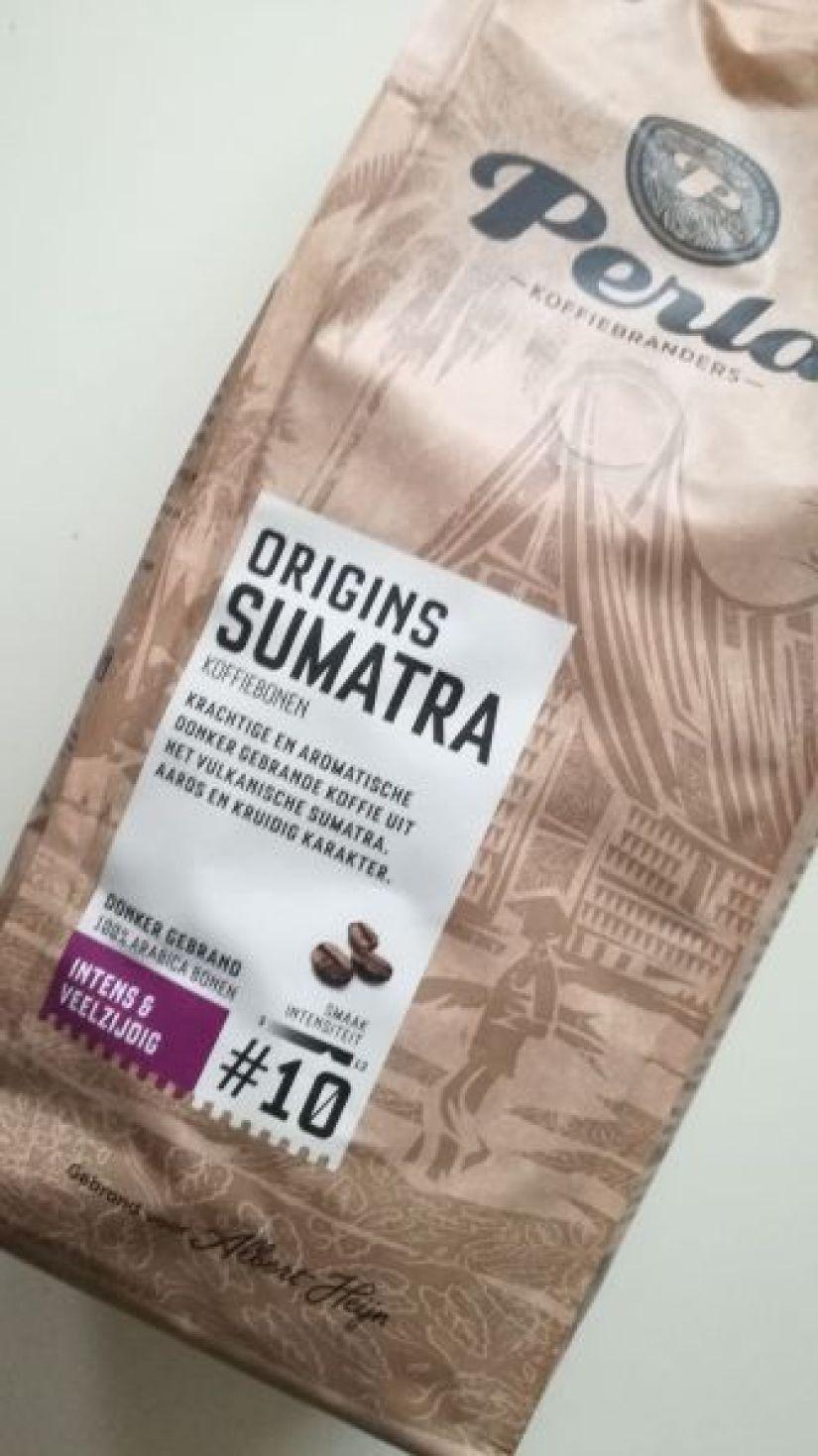perla sumatra koffie AH