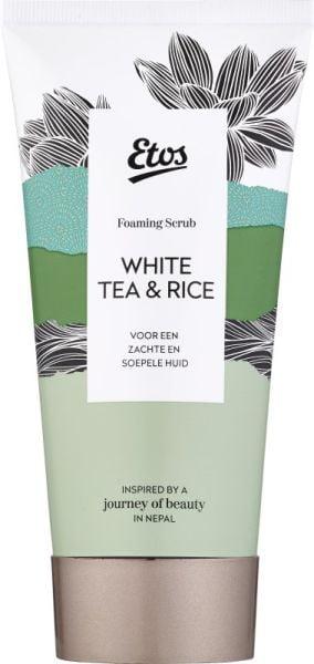 Foaming scrub White tea & rice