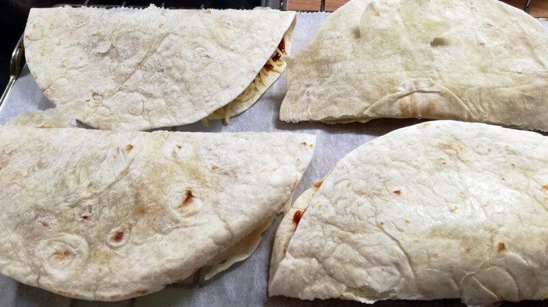 Quesadilla's met Pompoen