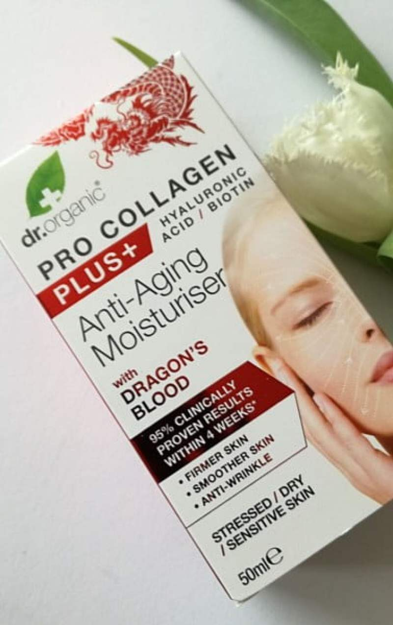 Dr. Organic Pro Collagen+ Moisturisers Dragons Blood