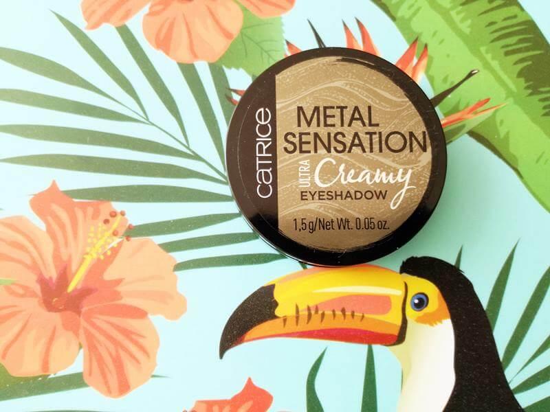 catrice creamy metallic eyeshadow