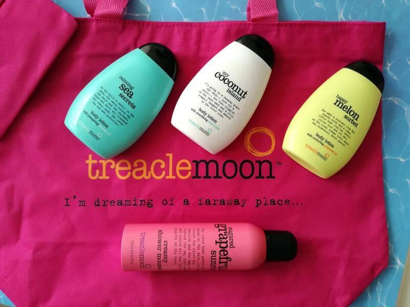 Creamy Shower Mousses & Body Lotions van Treaclemoon