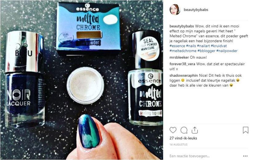 melted chrome instagram