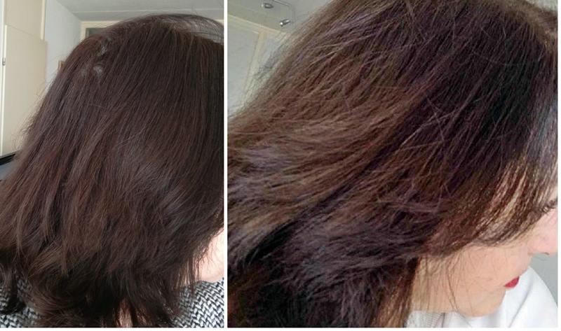 voor en na color wow