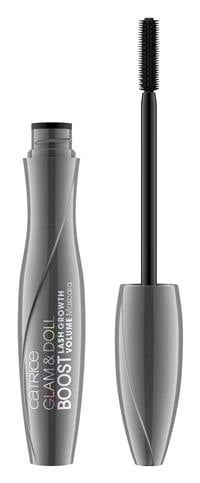 Catrice Glam & Doll Boost Lash Growth Volume Mascara 010 Ultra Black_Image_jpg_Front View Full Open