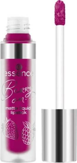berry on matte liquid lipstick 02 open