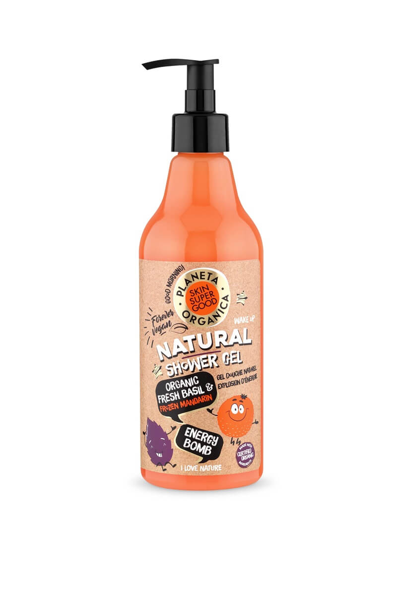 Planeta Organica Skin Super Good Natural Shower Gels 19 planeta Planeta Organica Skin Super Good Natural Shower Gels