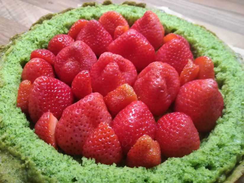 Zin in een Groene Taart met Aardbeien? 21 spinazietaart Zin in een Groene Taart met Aardbeien?