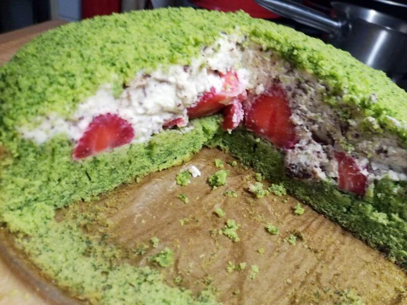 Zin in een Groene Taart met Aardbeien? 27 spinazietaart Zin in een Groene Taart met Aardbeien?