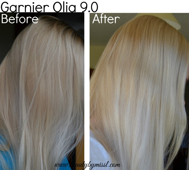 Garnier Olia Hair Dye 90 Light Blonde Beauty By Miss L