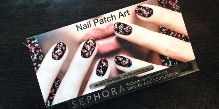 Sephora Nail Patch Art Ma Mini Robe Liberty