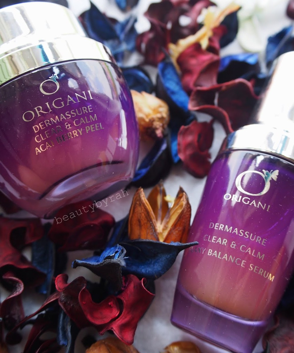 origani dermassure clear and calm skincare review