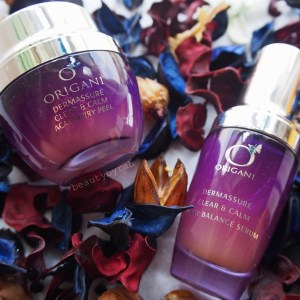 origani dermassure clear and calm skincare review