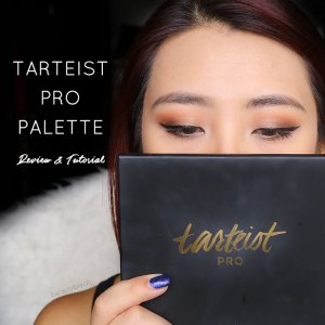 tarte tarteist pro palette review and swatches