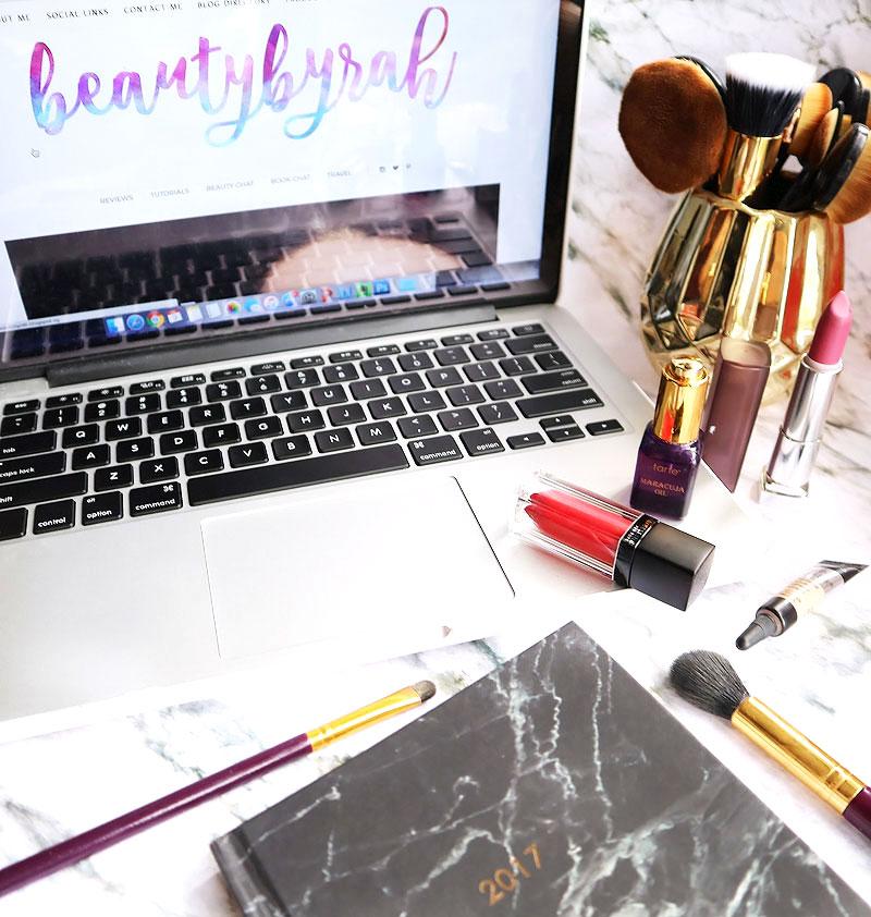 beautybyrah 3 year blog anniversary