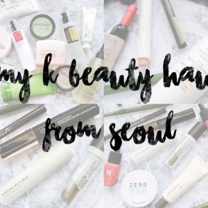 Seoul Beauty Makeup and Skincare Beauty Haul