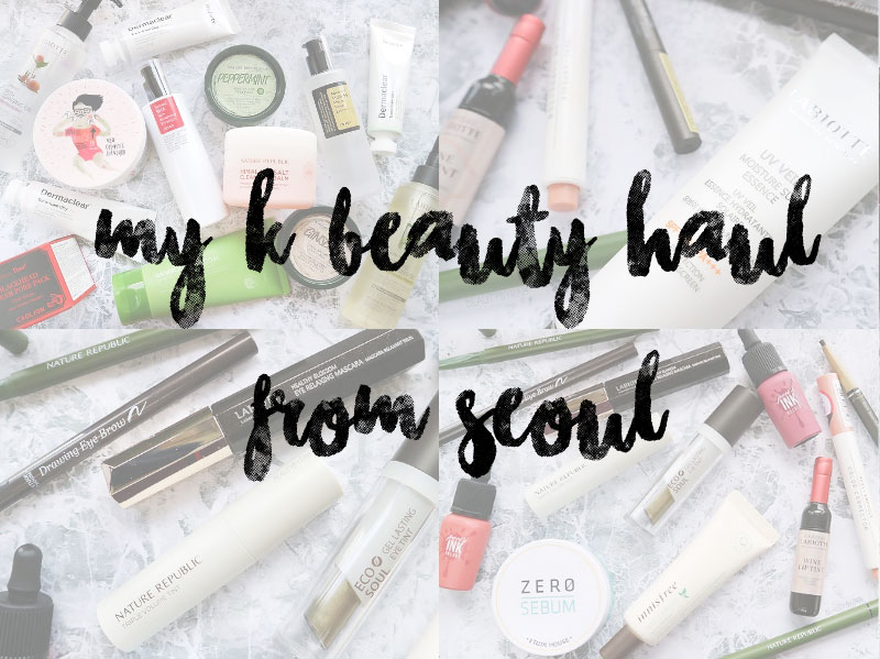 Seoul Beauty Makeup and Skincare Beauty Haul