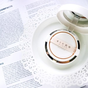 KICHO COSMETICS AROHA GLOW CC CUSHION REVIEW
