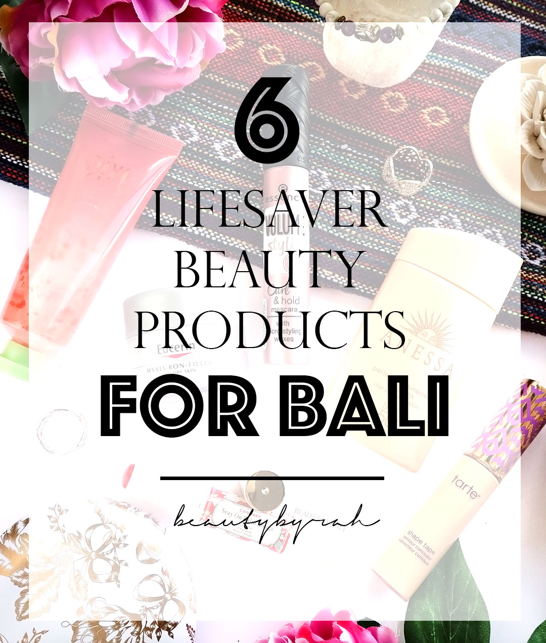 beauty products recommendations for Bali Indonesia