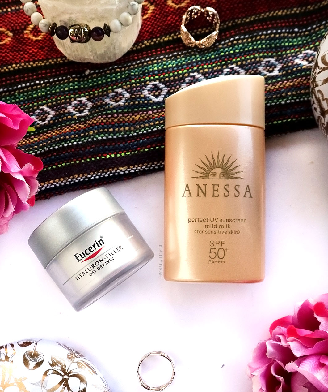 Anessa perfect UV sunscreen mild milk review