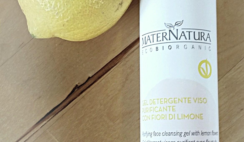 Detergente viso purificante maternatura ai fiori di limone