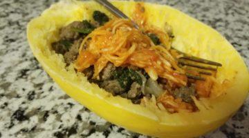 Easy and quick spaghetti squash recipe