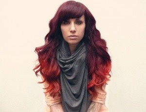 burgundy-hair-with-red-ombre