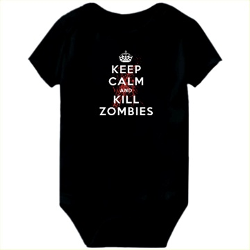 keep calm baby onesie