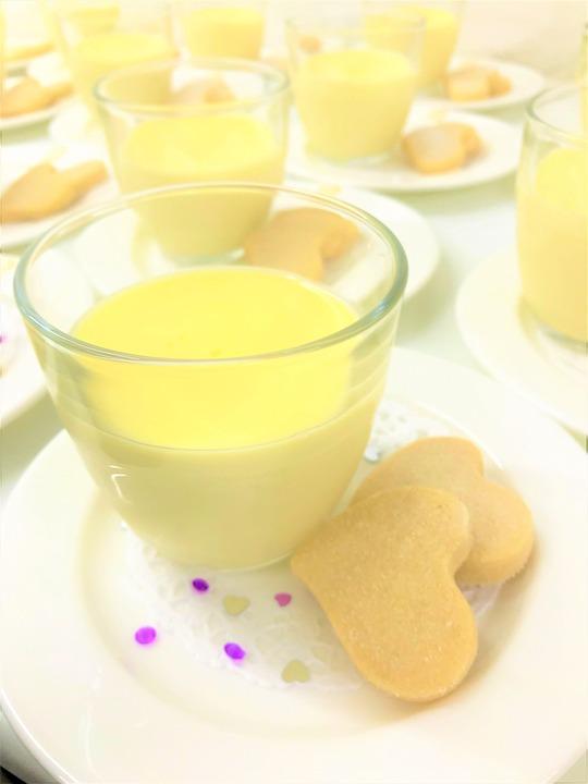 Vanilla Cream Pudding Dessert Pixabay image