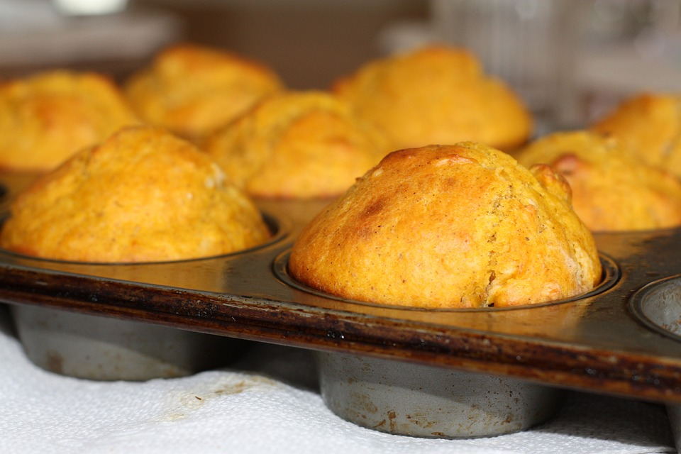 Favorite Cornmeal Muffins