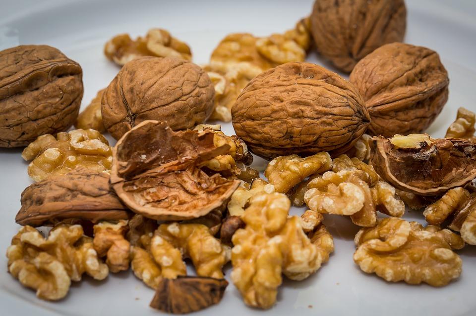 walnuts Pixibay Image Showing Walnuts for Walnut-Chip Pie