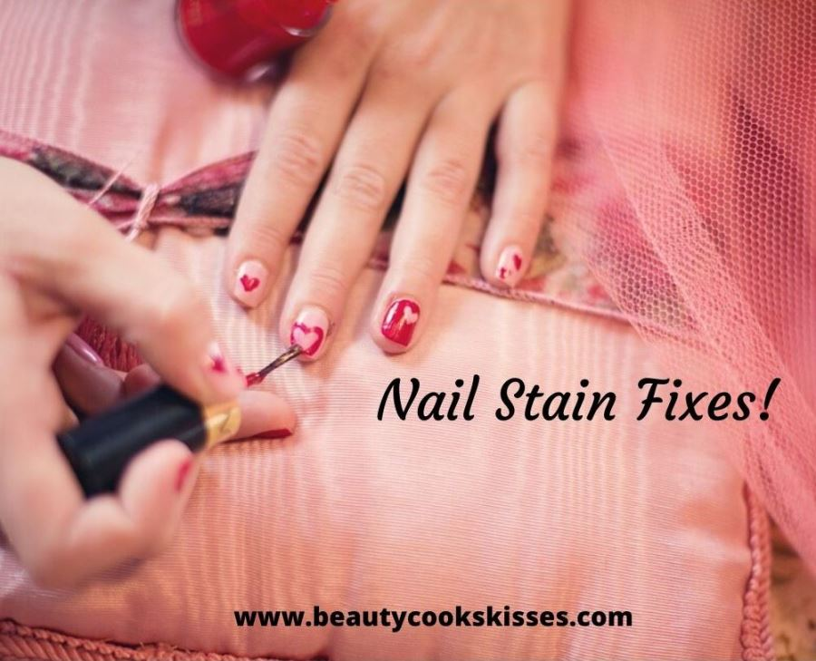 How to Fix Polish Stained Nails