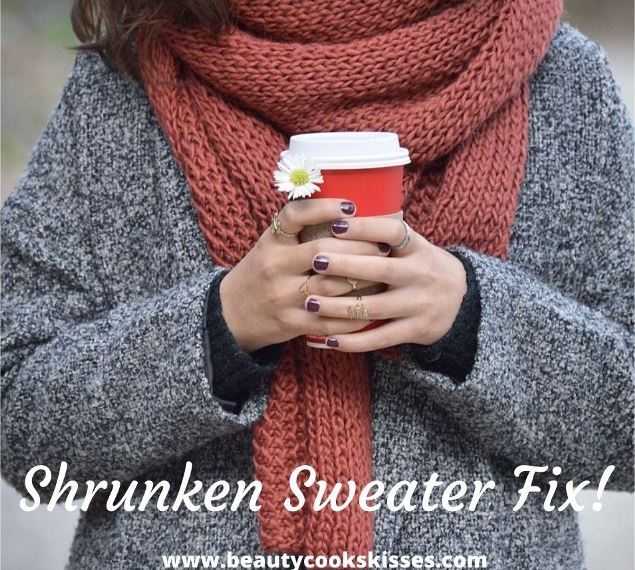 Shrunken Sweater Fix!