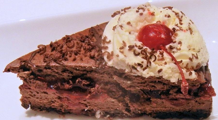 Luscious Chocolate Cheesecake