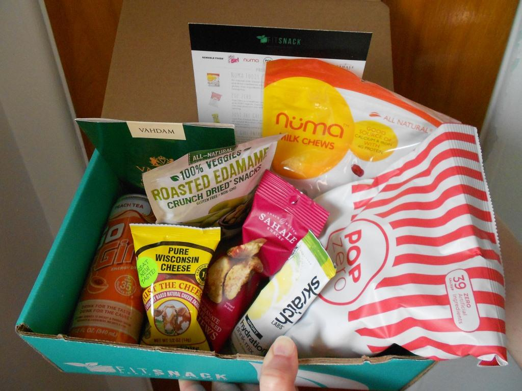 Fit Snack Box March 2018