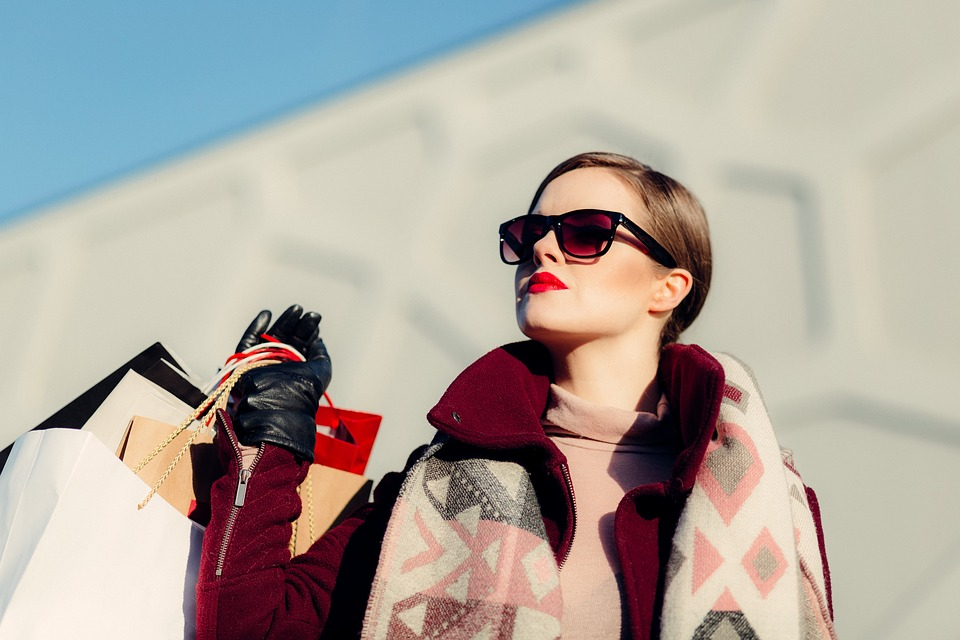 Woman Impulse Shopping Pixbay Image