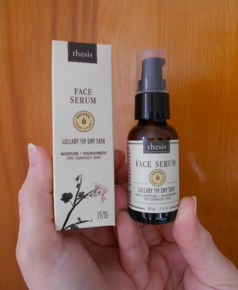 Thesis Beauty Organic Skin Care Face Serum