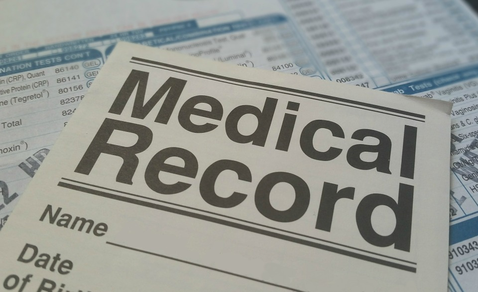 organizing home medical records