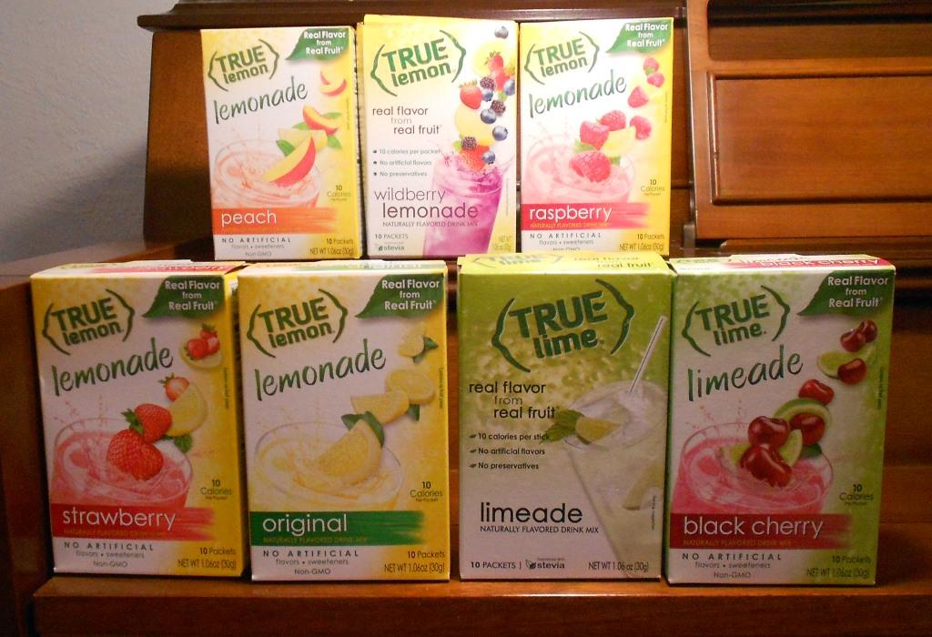True Citrus Products Lemonades and Limeades