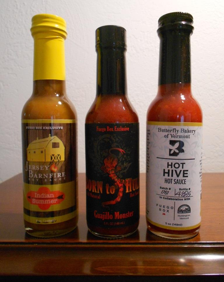 Hot Sauce Happiness Fuego August 2018