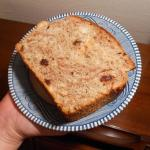 Cinnamon-Raisin Batter Bread slice