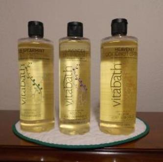 Vitabath Body Oils Small