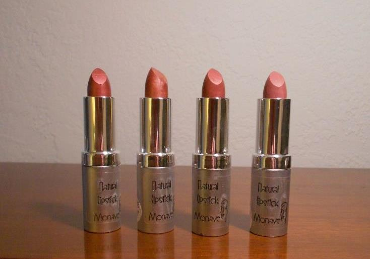 Monave Mineral Makeup Holiday Glam Lipsticks