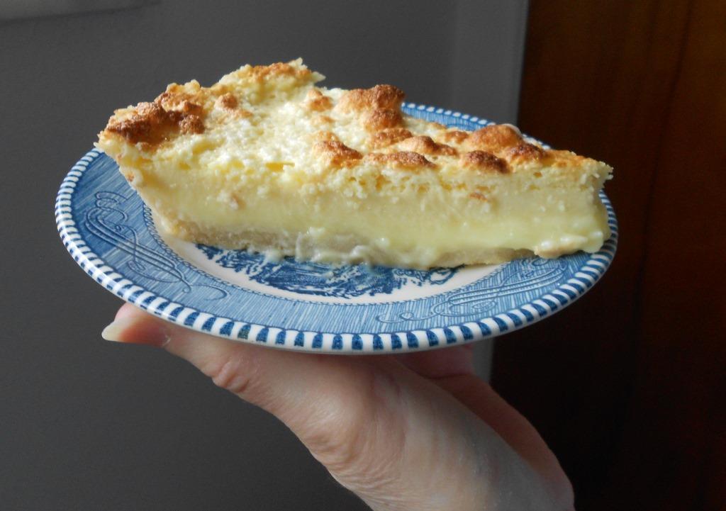 Easiest Lemon Pie Piece